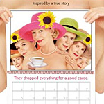 The Calendar Girls give it their all