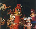 Nick Park's Grinning Chickens