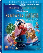 Fantasia and Fantasia 2000 dazzle in high-definition video