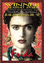 Loaded with features, the DVD of Frida is an account of one of art's liveliest characters