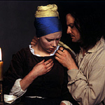 Webber re-paints Vermeer on film
