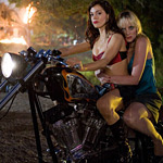Biker chicks and explosions: just what the Grindhouse ordered
