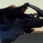 There's a cheesy motorcycle chase reminiscent of the speeder bikes in Return of the Jedi