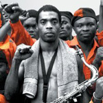 Kuti is central to his community of family and musicians, friends and fans