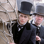 Hunnam and Courtenay investigate the lighter side of Dickens