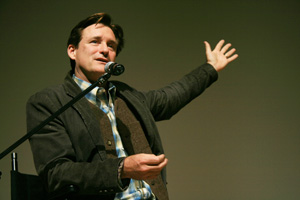 Honoree Bill Pullman after Surveillance at the 31st Denver Film Festival