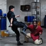 Rama kicks a man when he's down