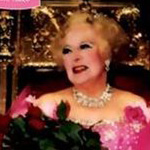 Barbara Cartland graces the Love Train with her presence