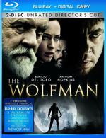 The Wolfman on Blu-ray