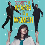 """Godard's tribute to the musical, """"in dazzling color and Scope"""""""