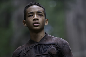 Jaden Smith is on the run After Earth