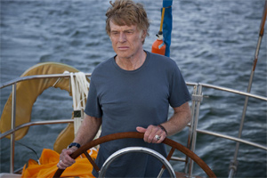 Redford sails alone
