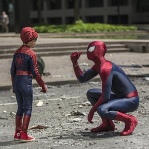 Spider-Boy and Spider-Man