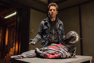 Paul Rudd is Scott Lang who is Ant-Man