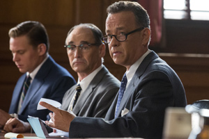 Hanks reunites with Spielberg on the Bridge of Spies