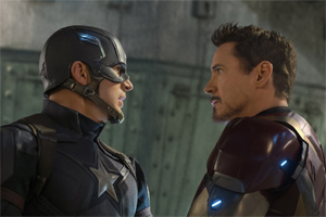 Cap and Iron Man wage a Civil War