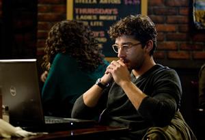 Ben (Shia LaBeouf) ponders his story.