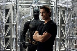 Nobody gets between Bruce Wayne and his suit