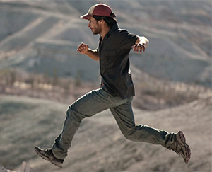 Moises (Gael Garcia Bernal) is on the run