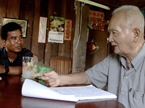 Thet Sambath gets Nuon Chea to talk