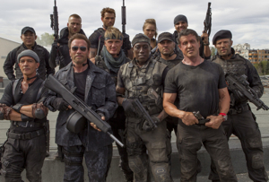 The Expendables are back