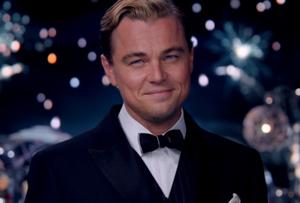 Leonardo DiCaprio is Jay Gatsby