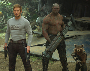 The Guardians are back to save the galaxy... again