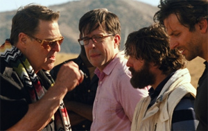 Goodman joins the Hangover gang