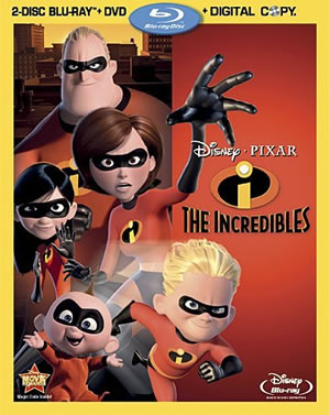 The Incredibles are now on Blu-ray