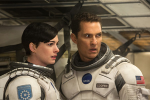 McConaughey and Hathaway launch a voyage of salvation