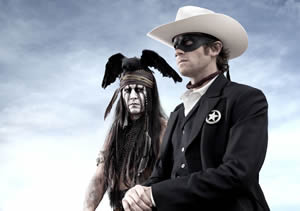 Tonto and the Lone Ranger ride again