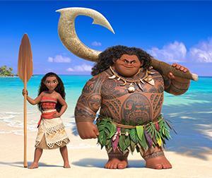 Moana and Maui