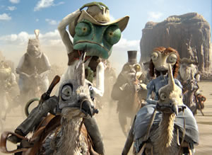 Rango wrangles with the wild West