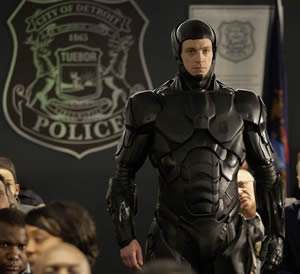 The new RoboCop (Joel Kinnaman)