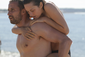 Schoenaerts carries Cotillard, and vice versa
