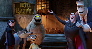Every ghoul stays at Hotel Transylvania