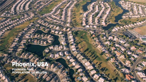 Urban sprawl is explained and defended