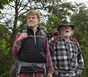 Redford and Nolte take a hike