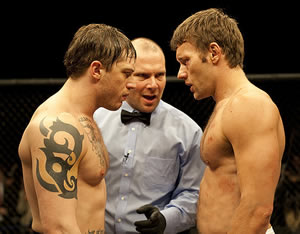 Hardy and Edgerton face off
