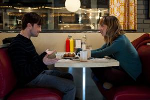 Radcliffe and Kazan meet cute