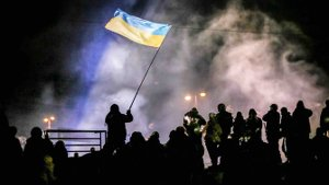 Ukrainians set the Winter on Fire