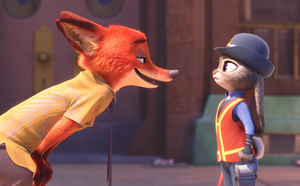 Predator and prey have struck an uneasy truce in Zootopia