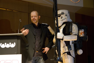 Director Philippe: Arrested by a stormtrooper